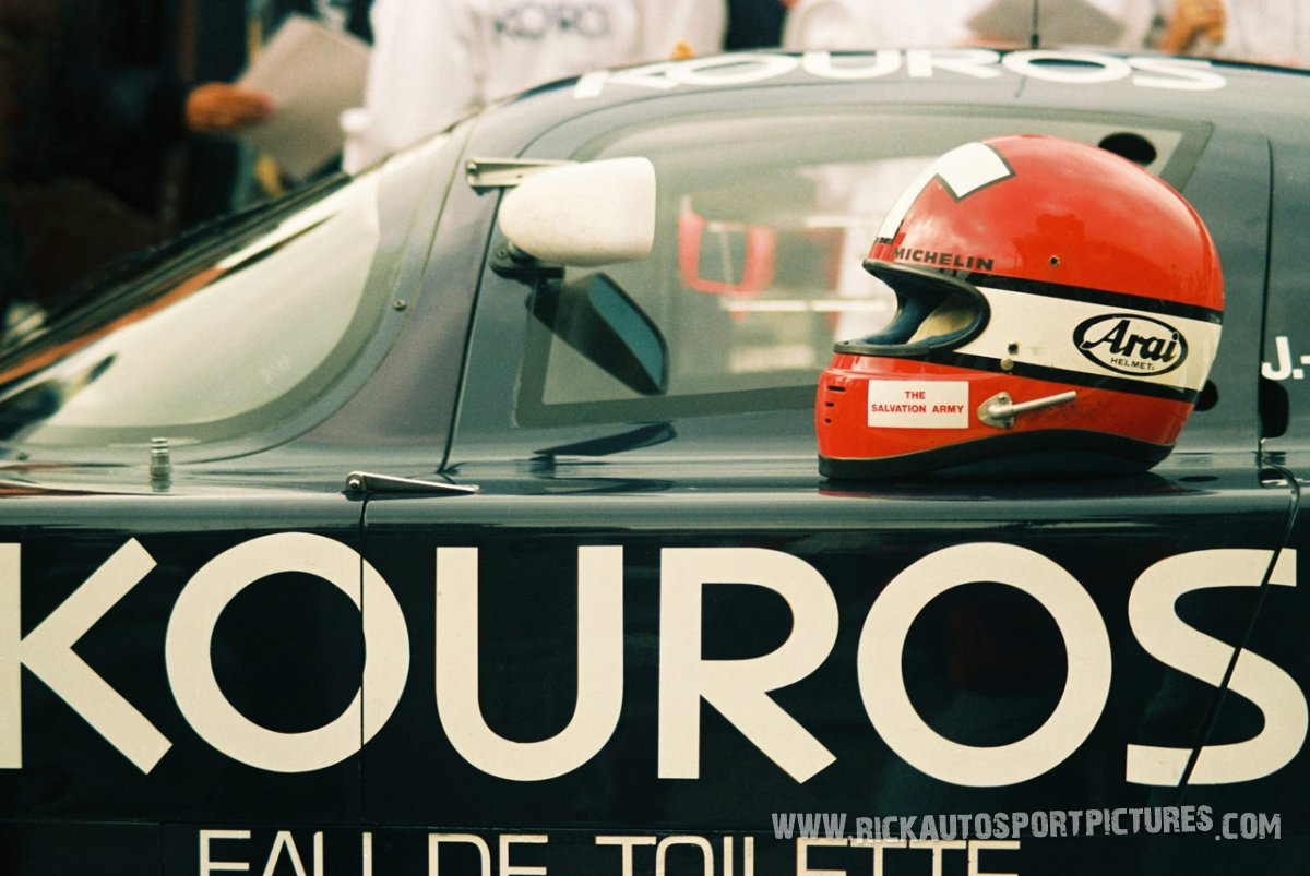 Mike Thackwell-1000 km Spa-1987