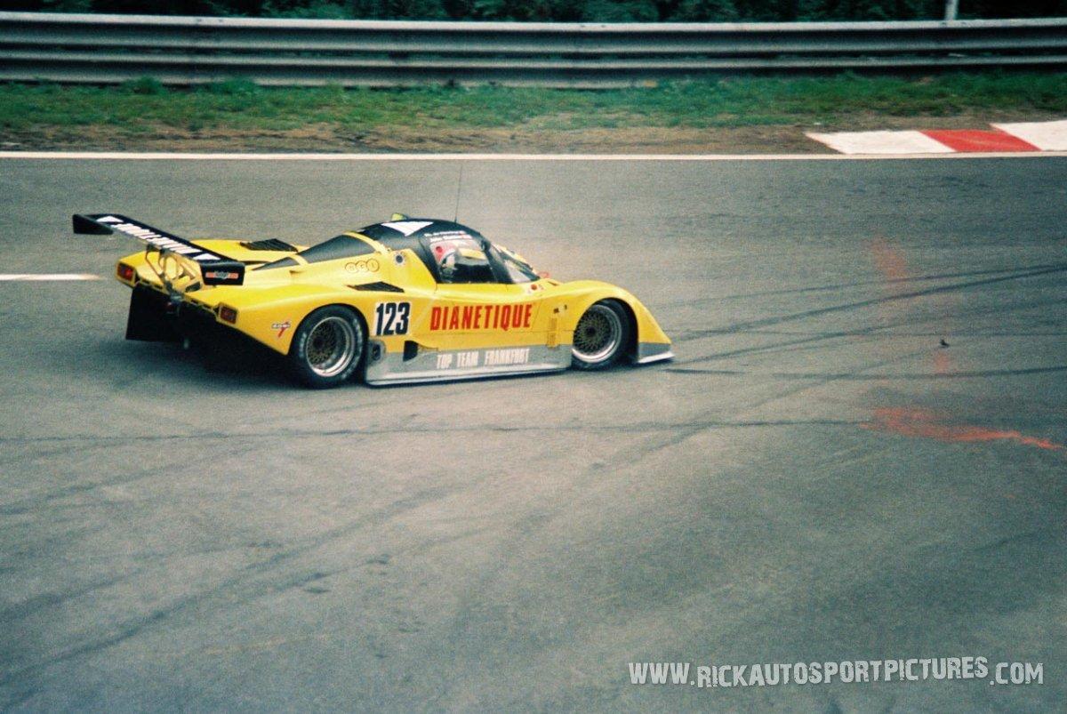Charles Ivery Racing Tiga Spa 1000 km 1987