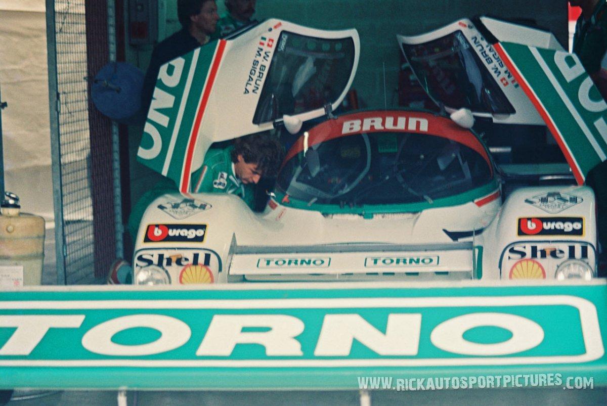 Brun Motorsport Spa 1000 km 1987