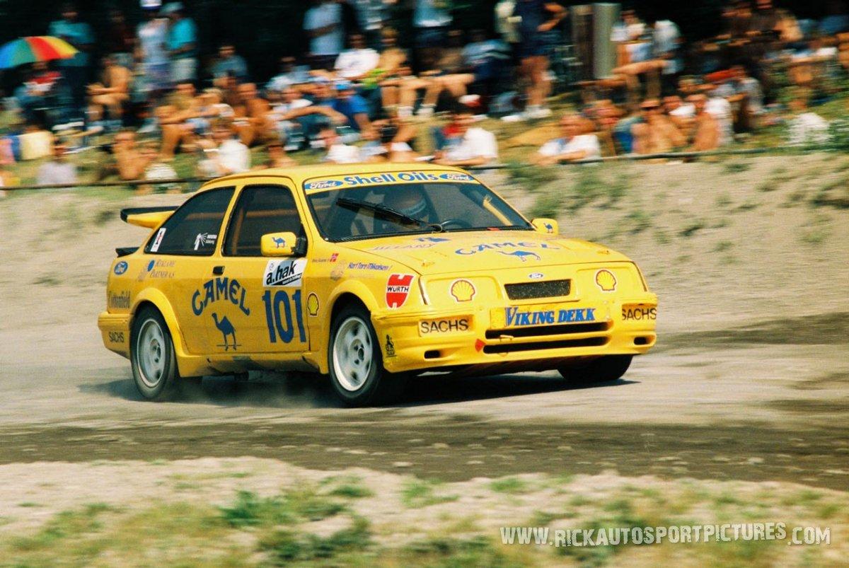 Bjorn Skogstad rallycross