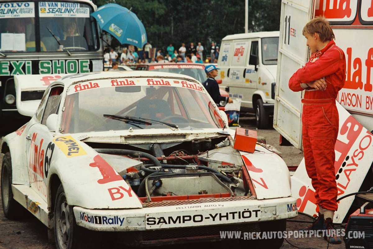 Jukka Pelttari rallycross 1986