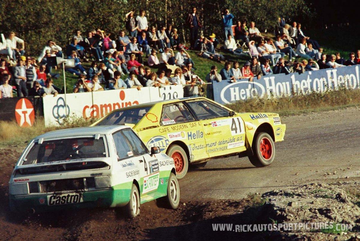 Kjetil Bolneset Arild Martinsen rallycross