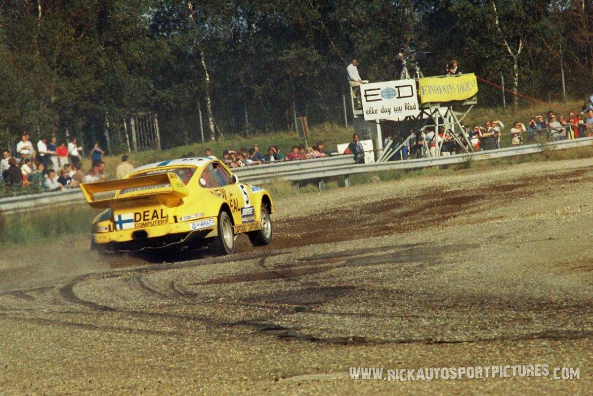 Matti Alamaki Rallycross Porsche 1985
