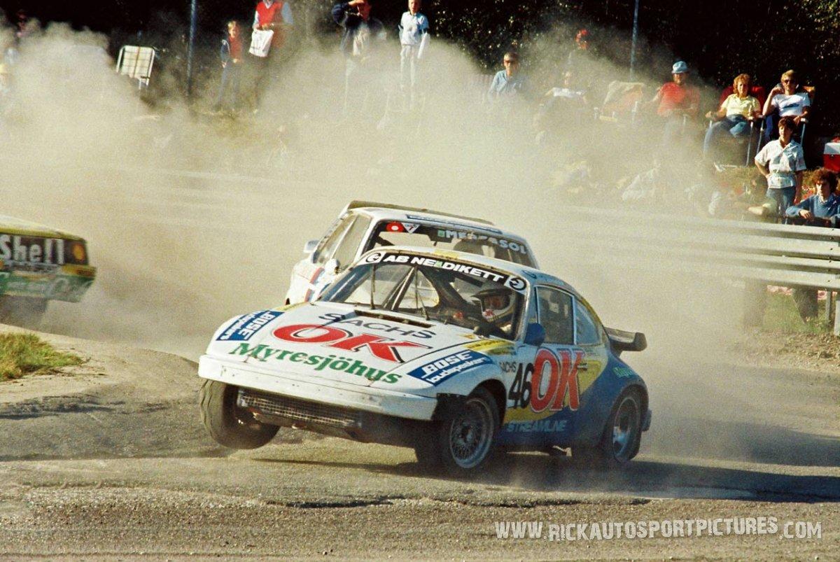 Rolf Nilsson porsche rallycross