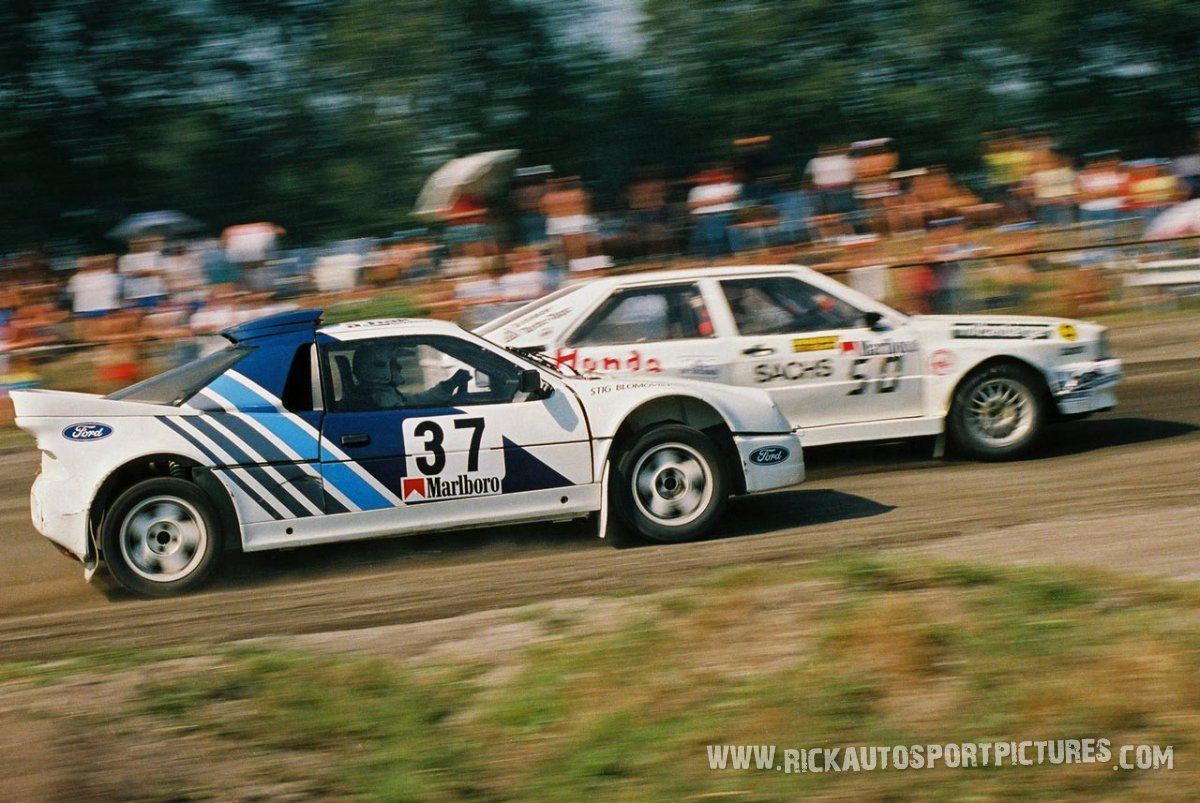 Stig Blomqvist rallycross