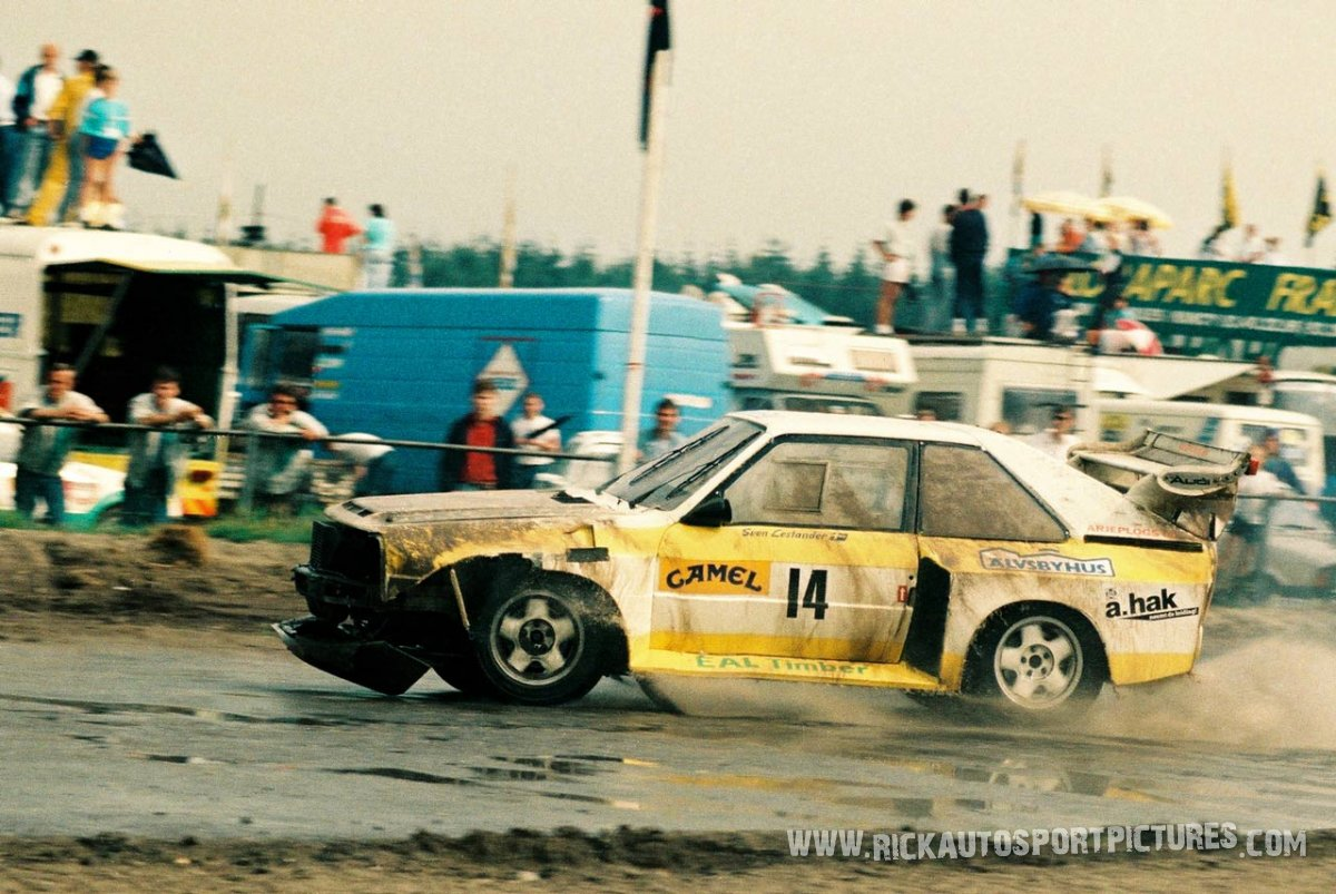 Sven Lestander rallycross
