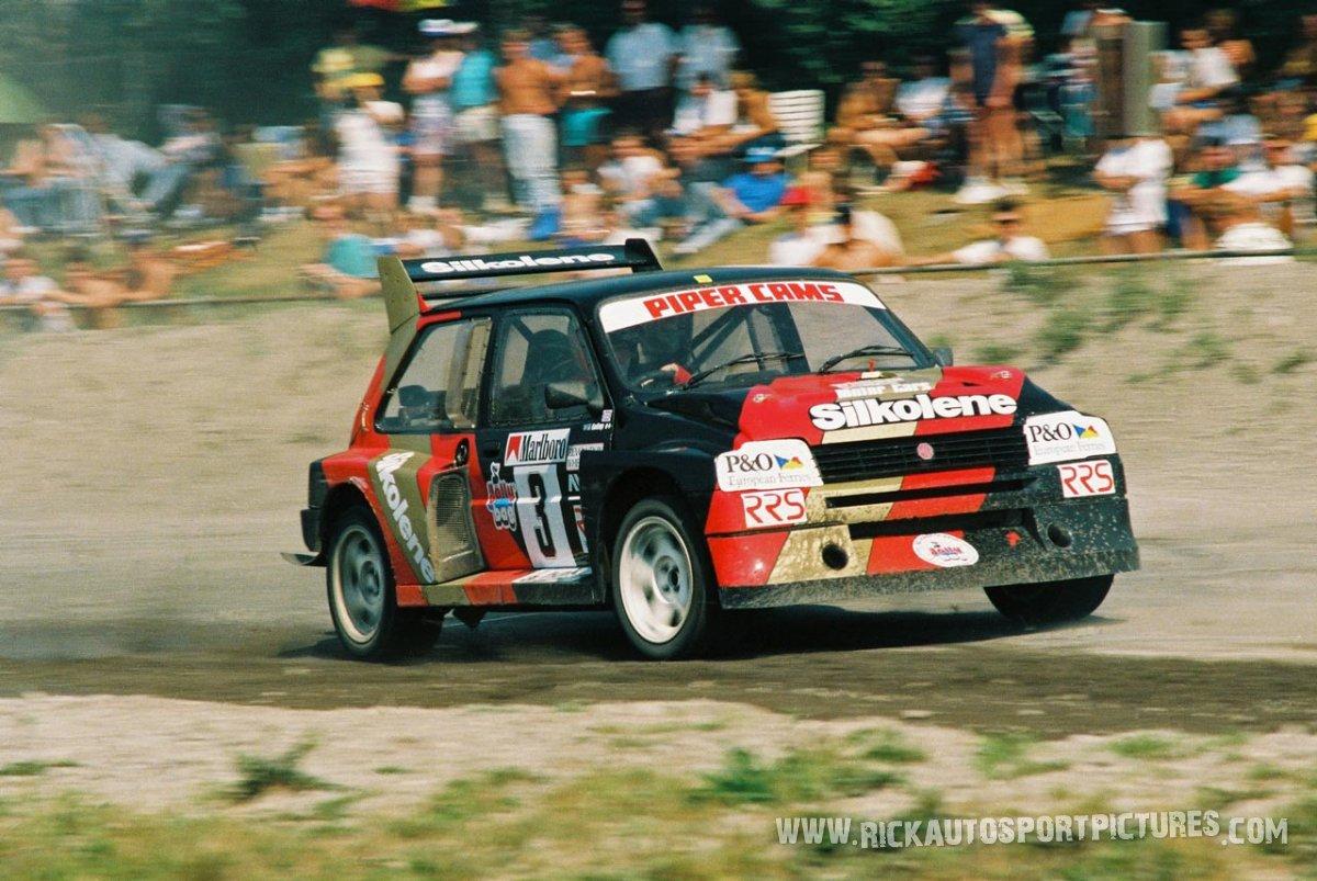 Will Gollop rallycross