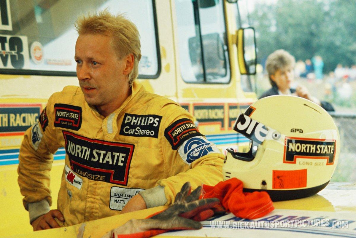 Matti Alamaki Rallycross Porsche 1986
