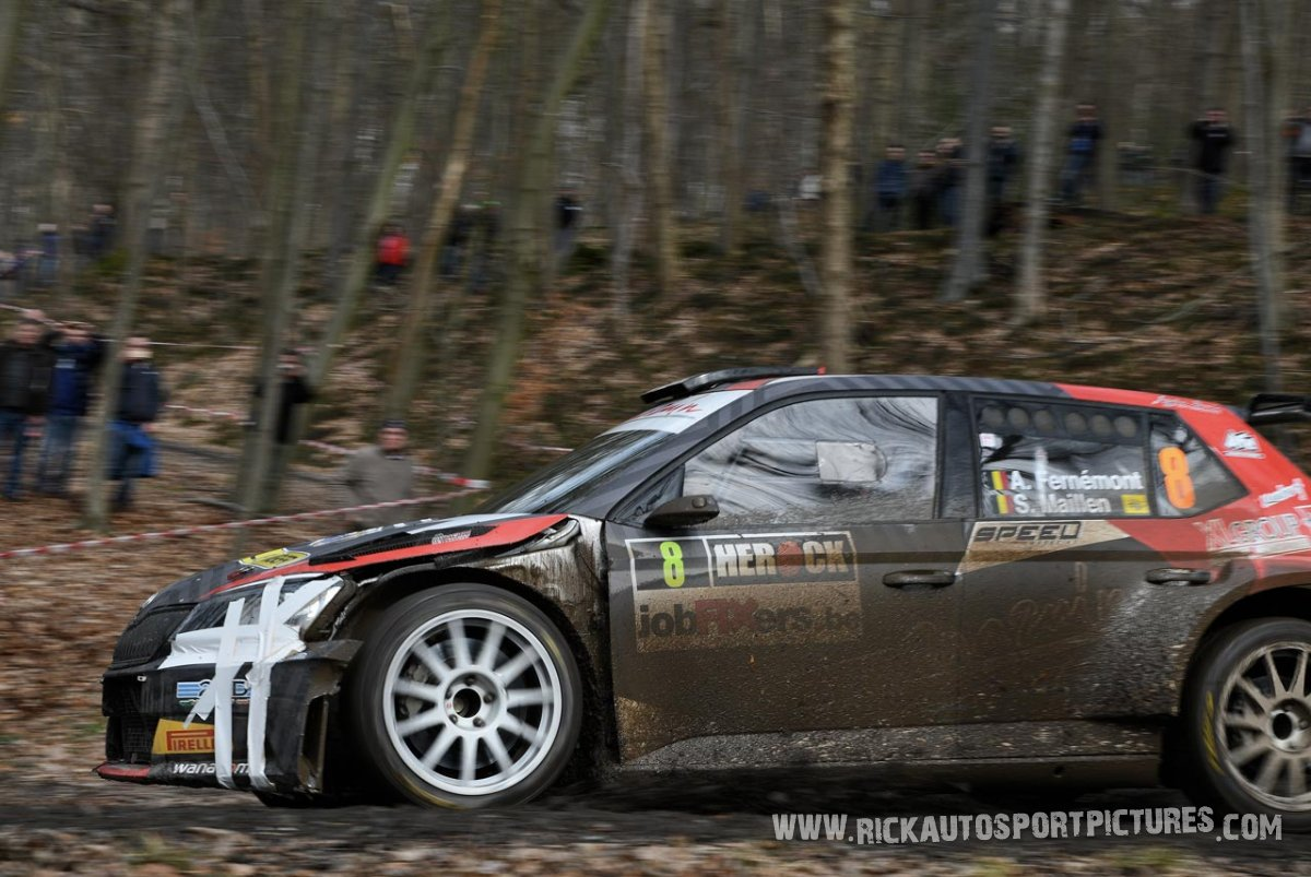 Adrian Fernemont-Spa-Rally-2018