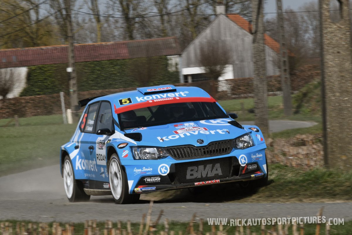 Didier Duquesne TAC Rally 2018