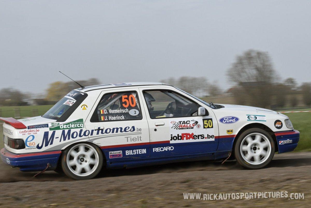 Dirk Vermeirsch TAC Rally 2018