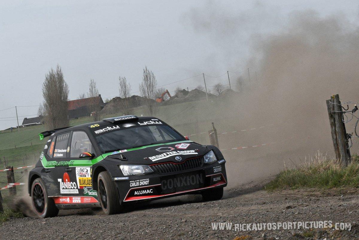 Vincent Verschueren TAC Rally 2018