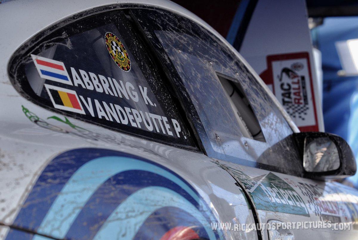 Kevin Abbring Porsche TAC Rally 2018