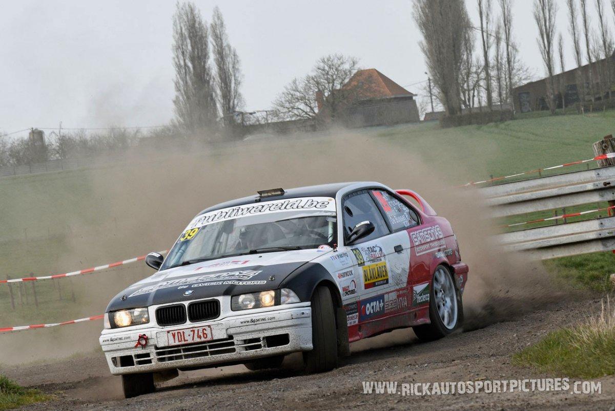 Franky Boulat TAC Rally 2018