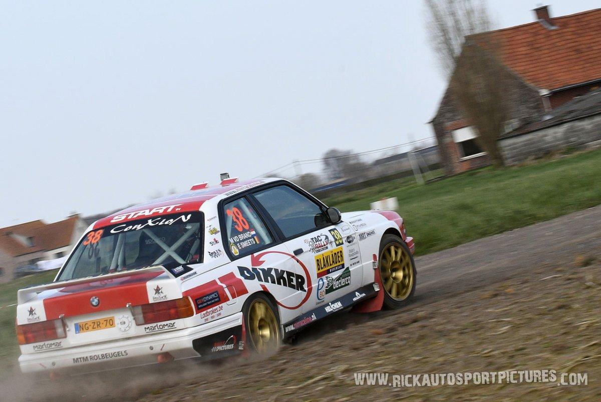 Mats van den Brand TAC Rally 2018