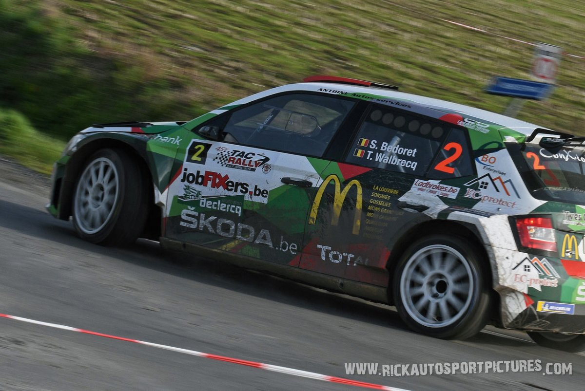 Sebastien Bedoret TAC Rally 2018