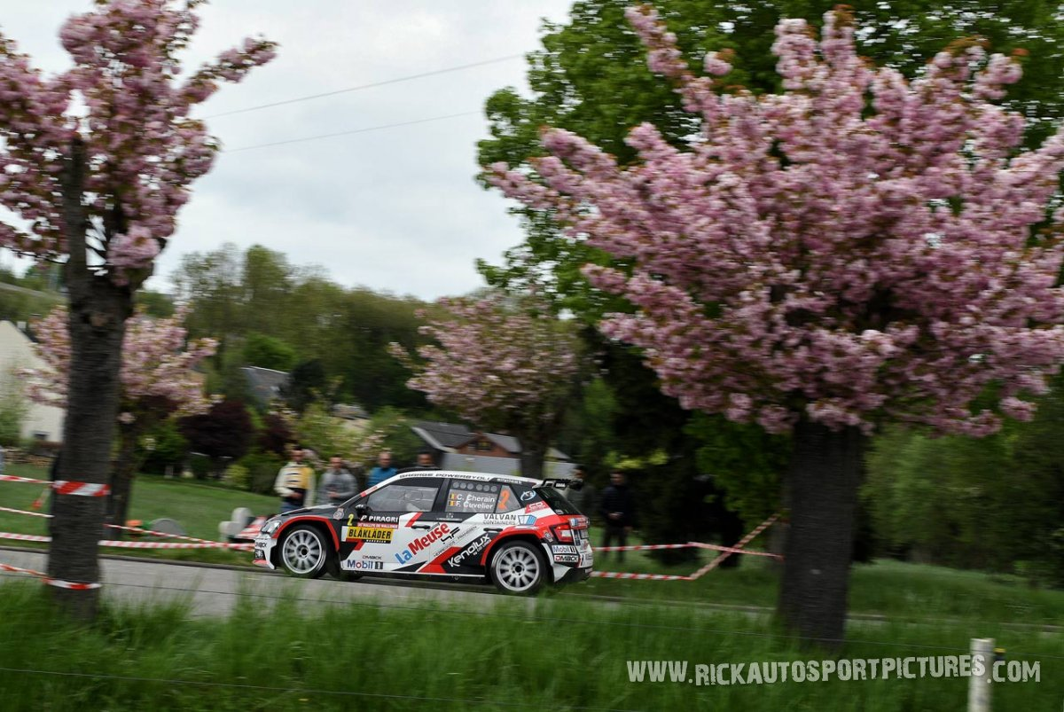 Cedric Cherain Rally Wallonie 2018