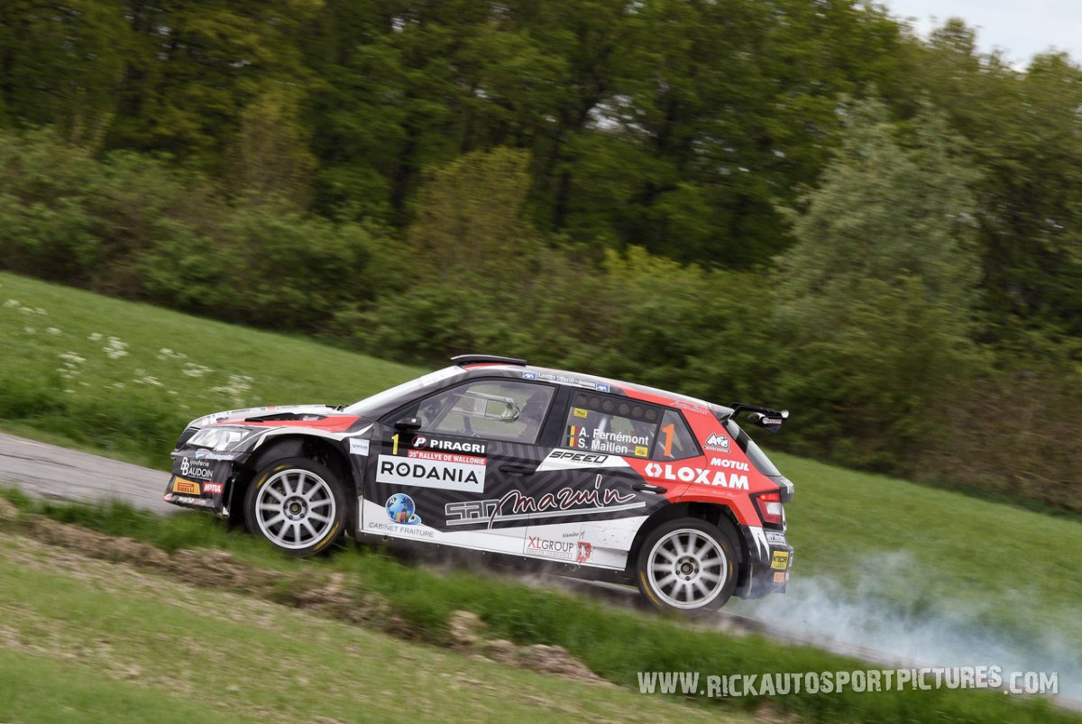 Adrian Fernemont-Rally-Wallonie-2018