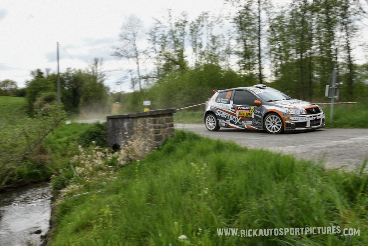 Stephan Hermann Rally Wallonie 2018