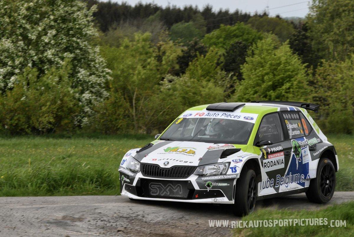 Etienne Monfort-Rally-Wallonie-2018