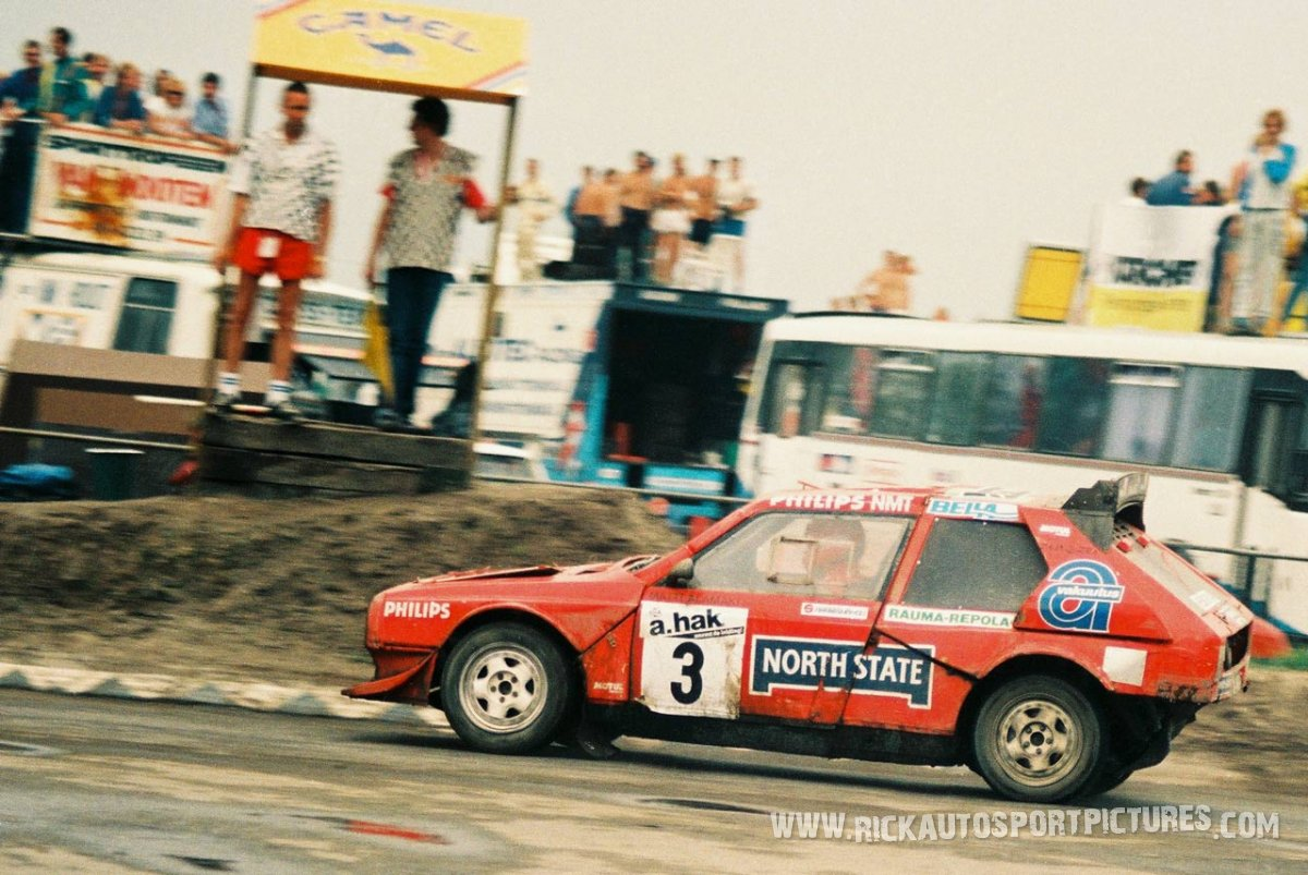 Matti Alamaki Rallycross Lancia Delta 1987