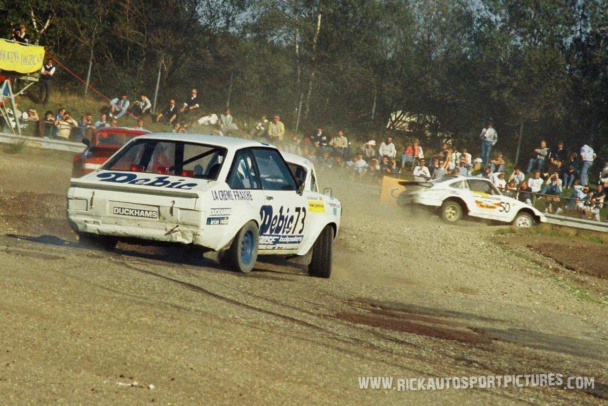 Ludo Helven rallycross 1985