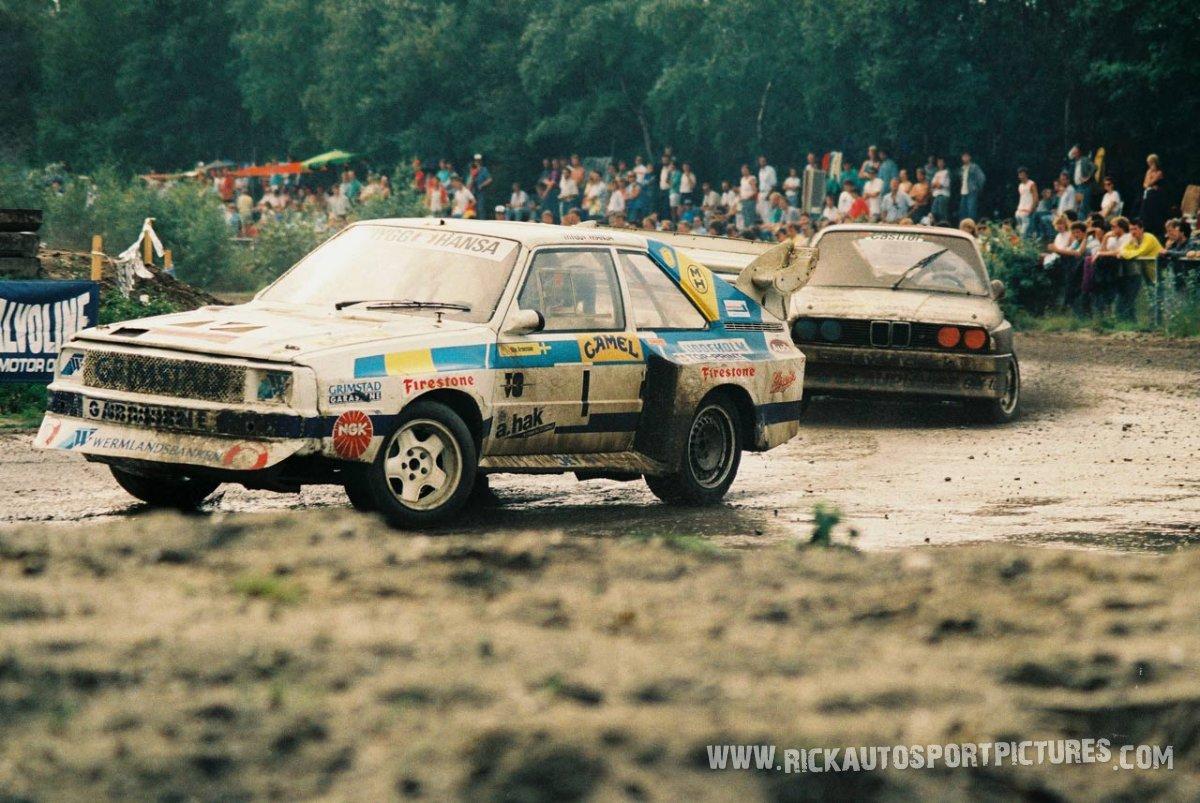 Olle-Arnesson rallycross valkenwaard 1987