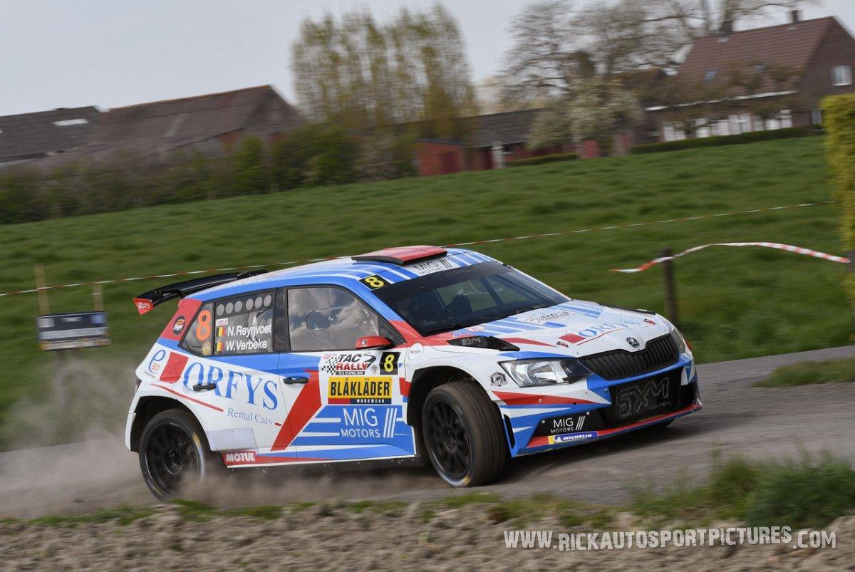 Niels Reynvoet TAC Rally 2019