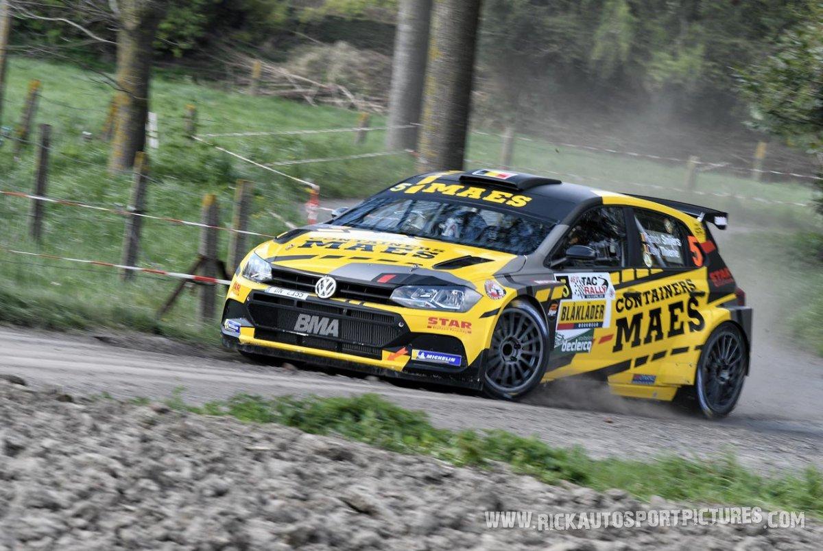 Patrick Snijers TAC Rally 2019