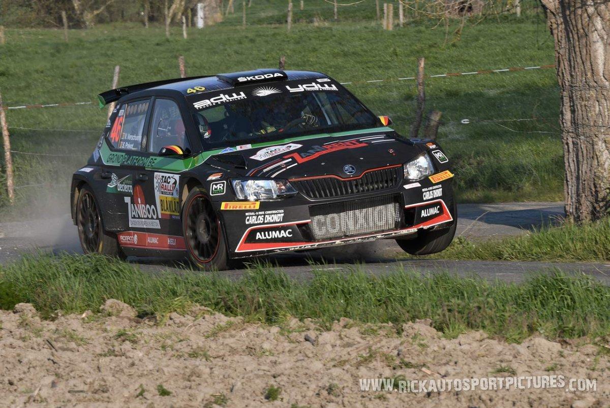 Vincent Verschueren TAC Rally 2019