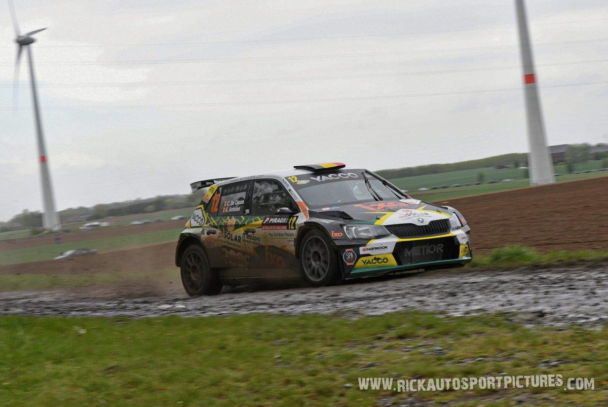 Cedric De Cecco-Rally-Wallonie-2019