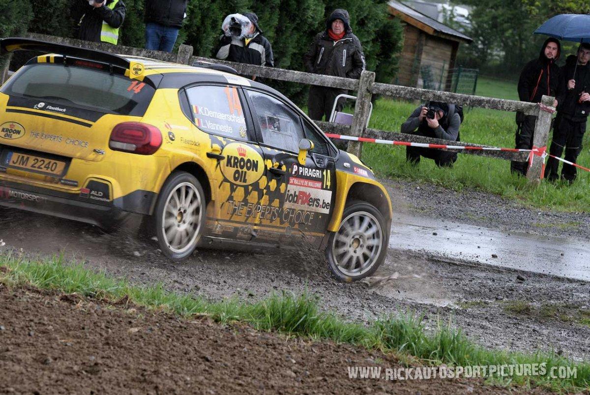 Kevin Demaerschalk Rally Wallonie 2019