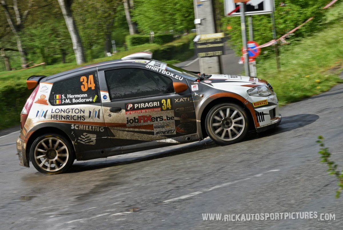 Stephan Hermann Rally Wallonie 2019