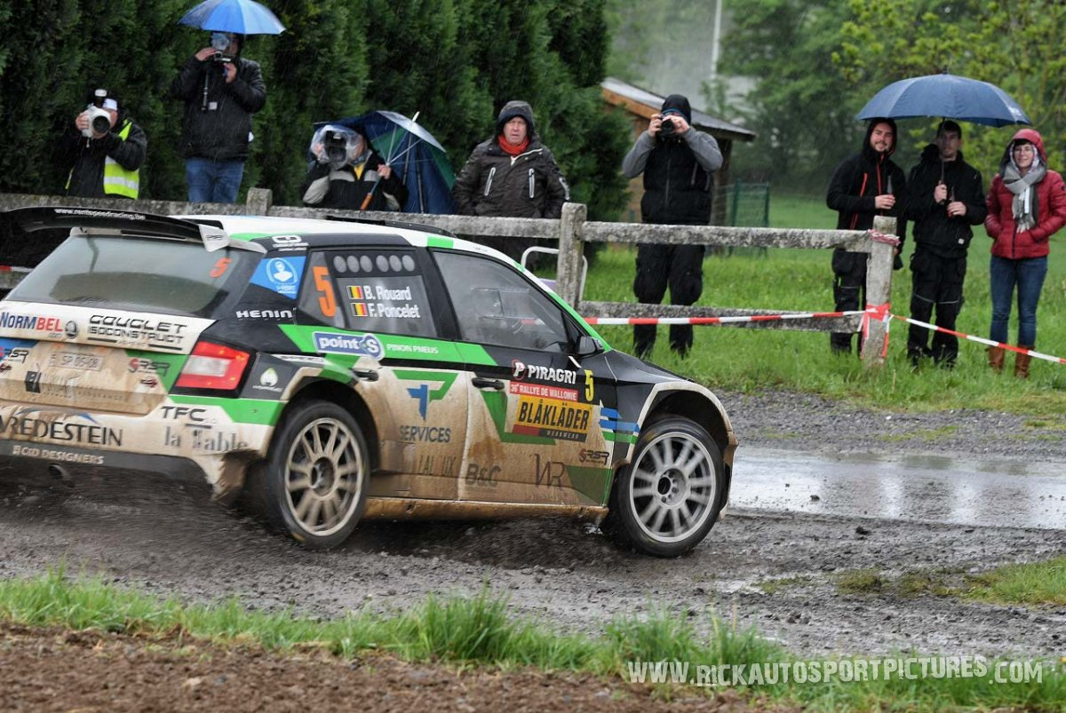 Bastien Rouard-Rally-Wallonie-2019