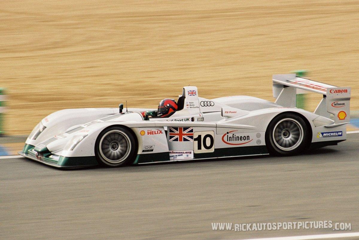 Audi Sport UK le mans 2003