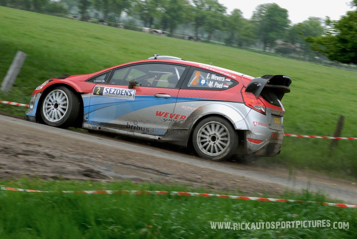 Erik Wevers sezoens rally 2013