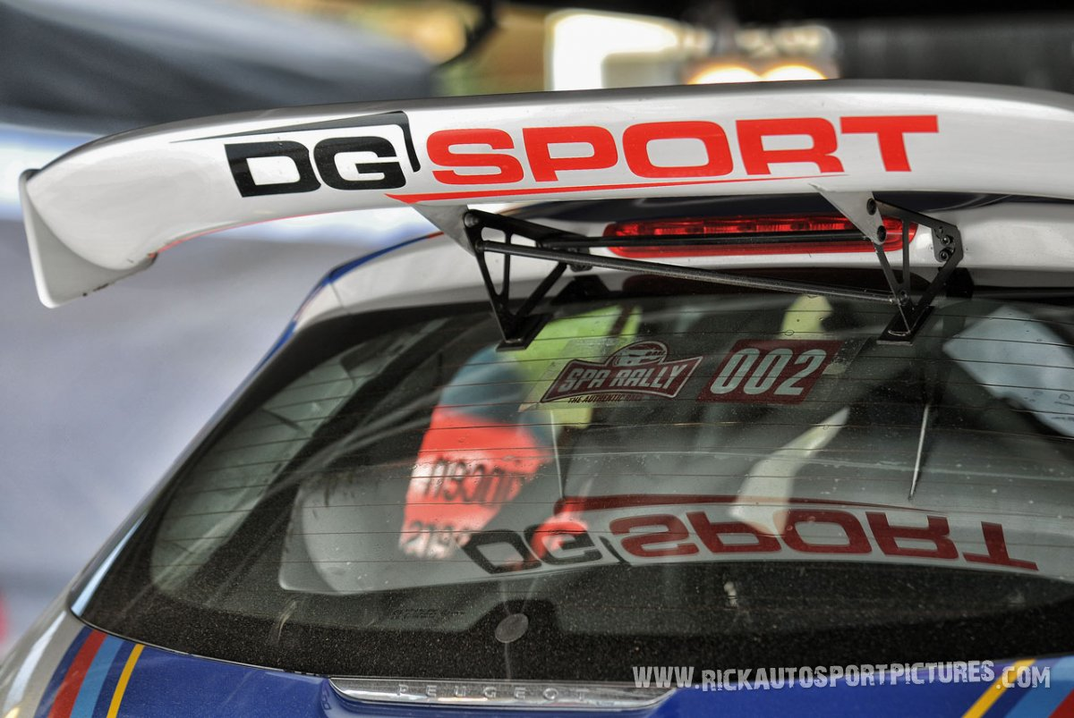 DG Sport Spa Rally 2015