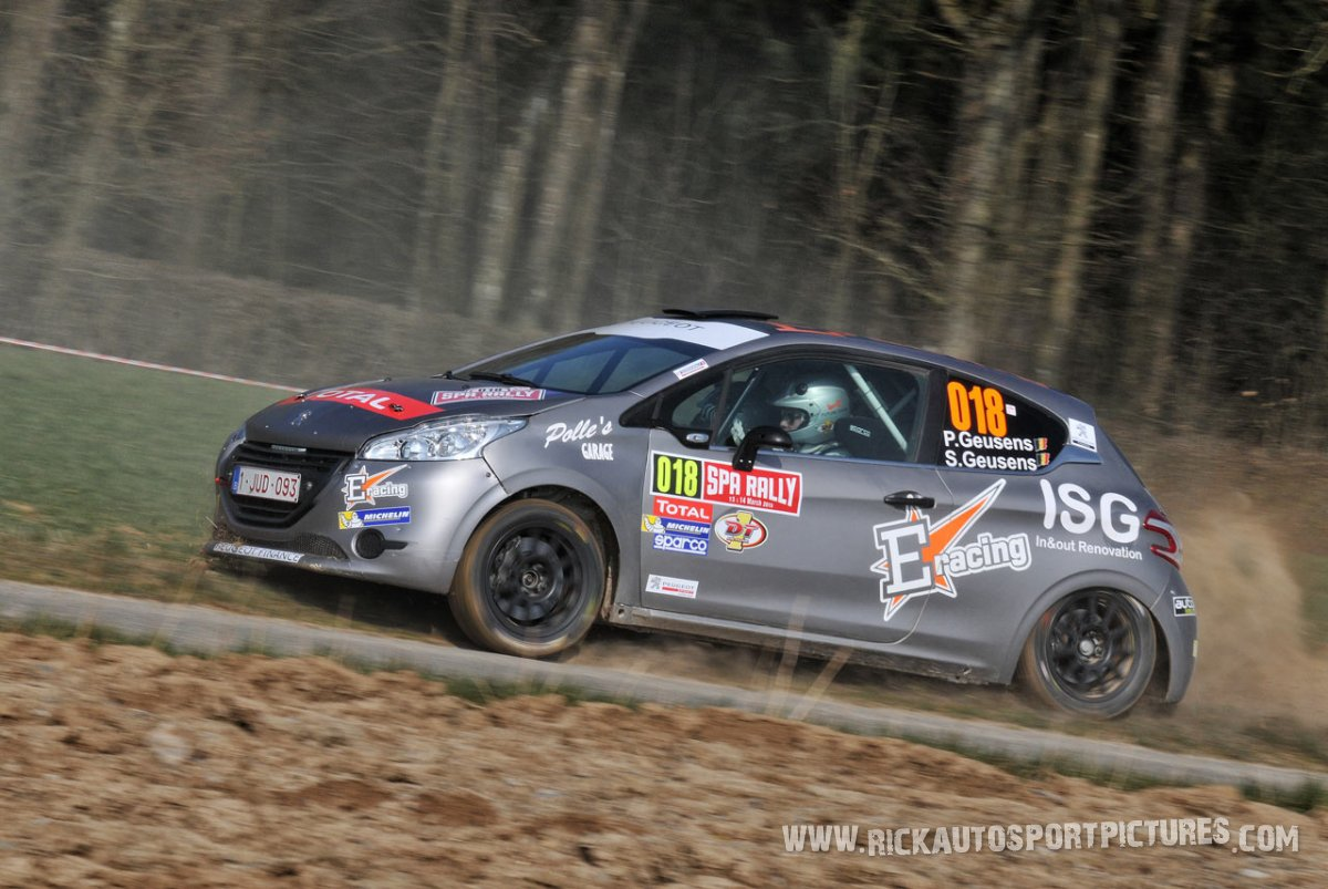 Polle Geusens spa rally 2015