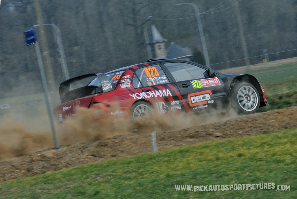 Chris Van Woensel Spa Rally 2015