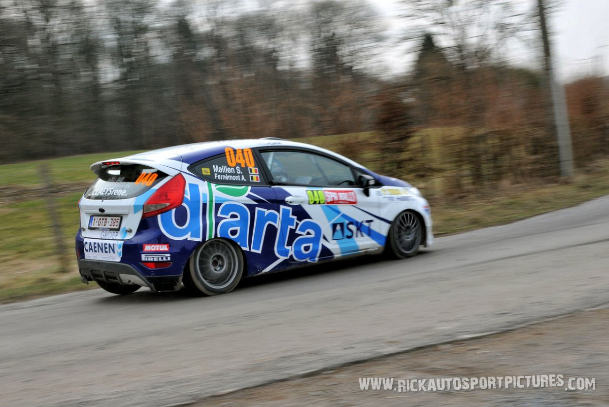 Adrian Fernemont Spa Rally 2015