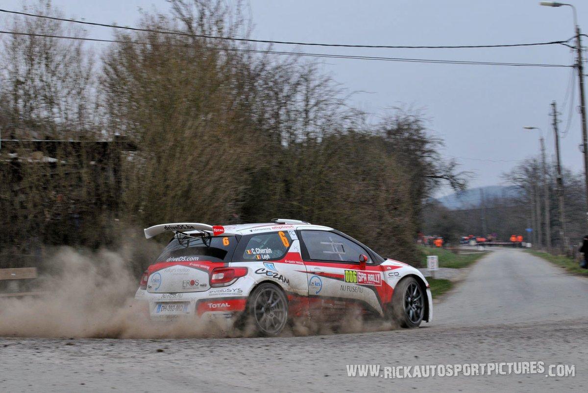 Cedric Cherain Spa Rally 2015
