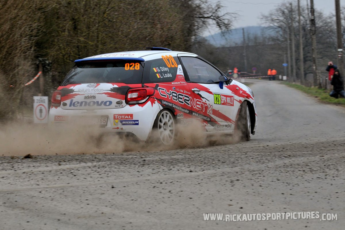 Guillaume Dilley Spa Rally 2015