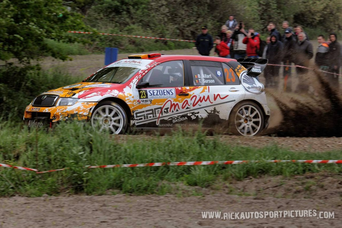 Benoit Allart Sezons Rally 2015