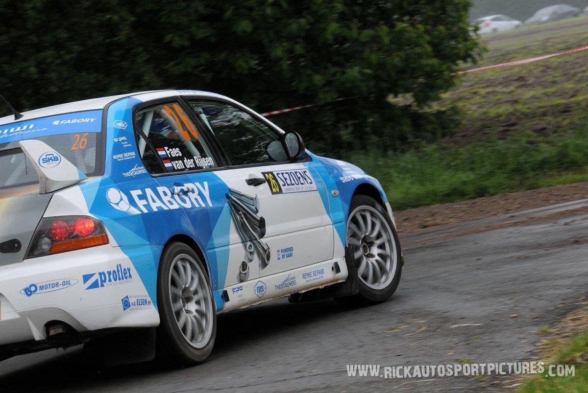Johan Faes Sezoens Rally 2015