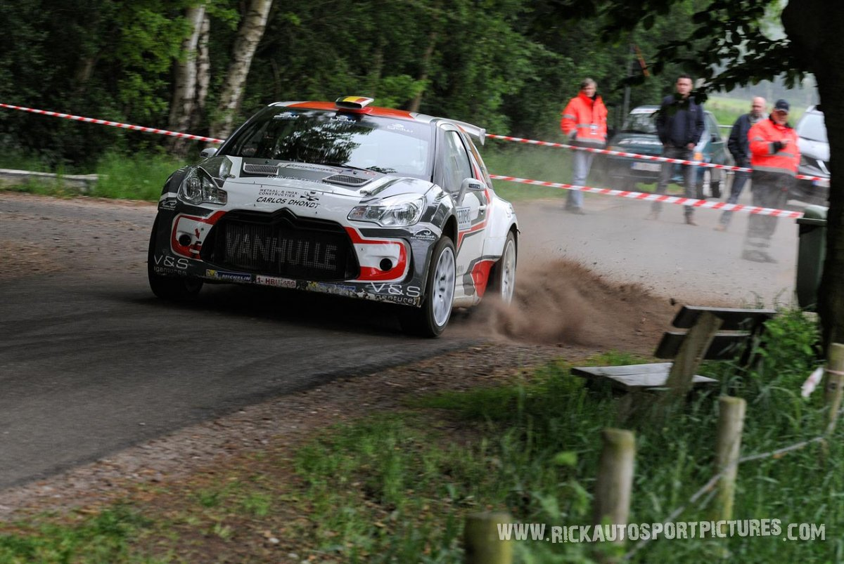 Vincent Verschueren Sezoens Rally 2015