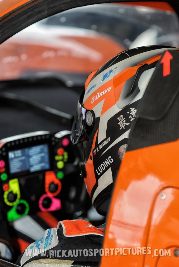 Roman Rusinov G-Drive WEC Silverstone 2017