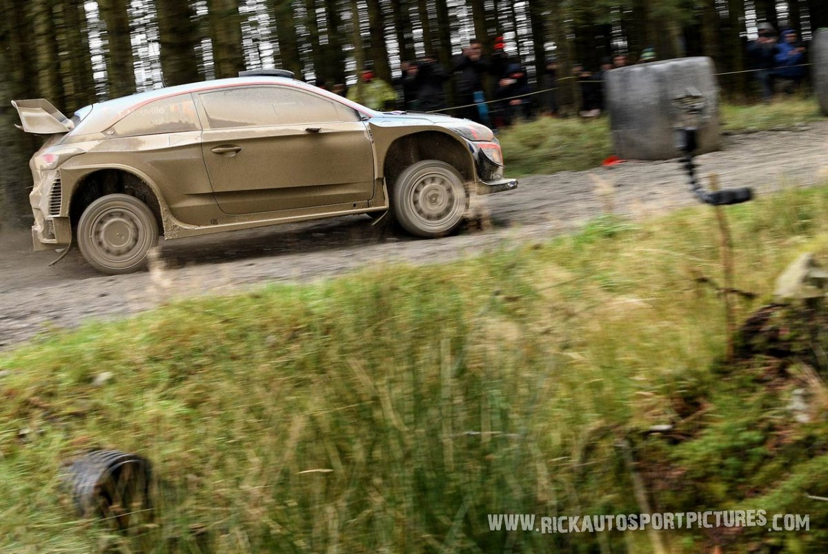 Thierry Neuville WRC Wales 2018