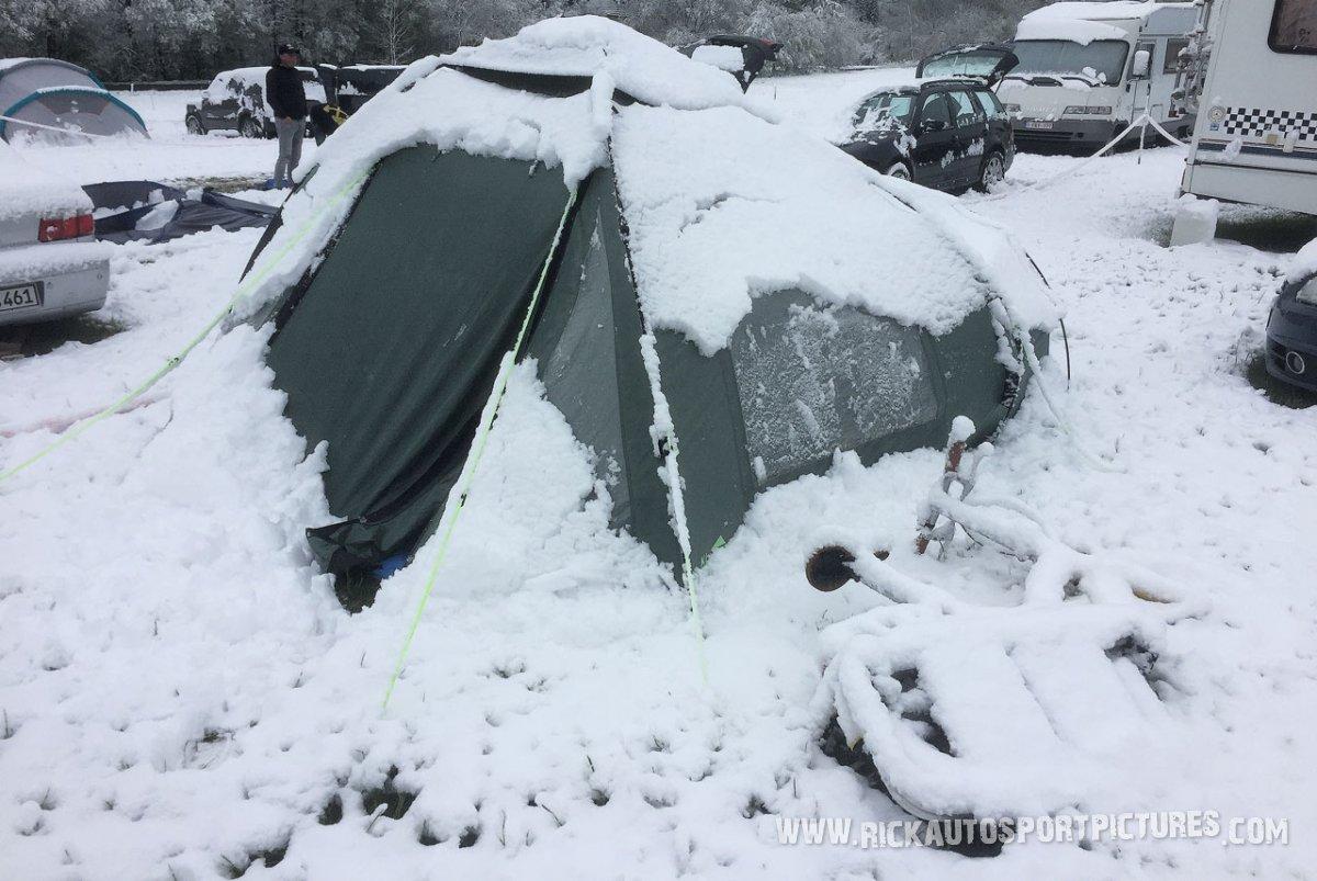 snow WEC Spa-2019