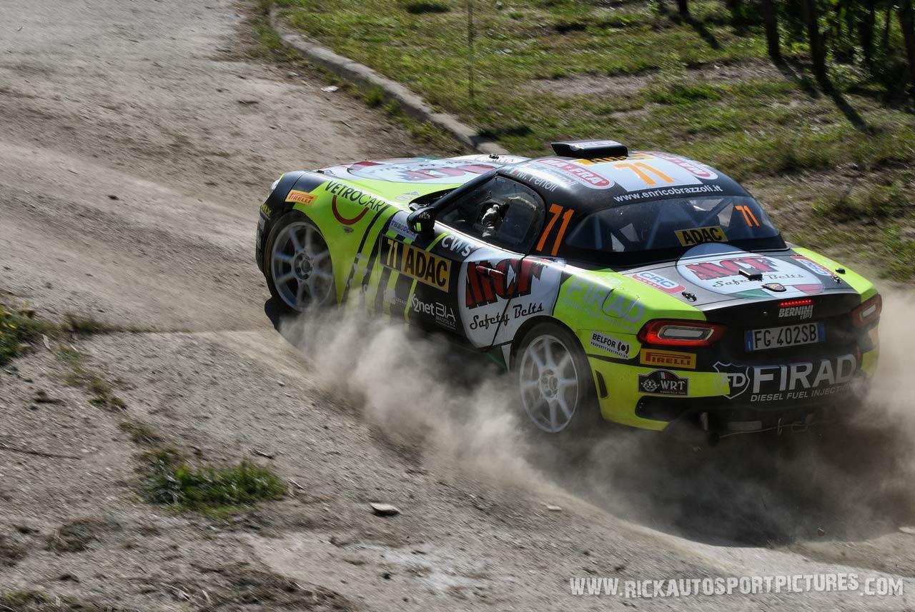 Enrico Brazzoli Deutschland Rally 2019