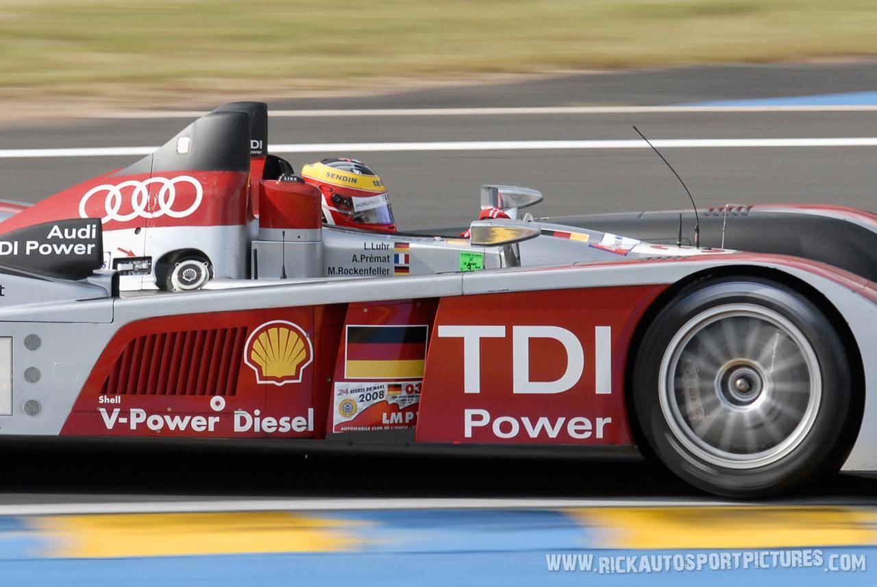 Alex Premat Le Mans 2008
